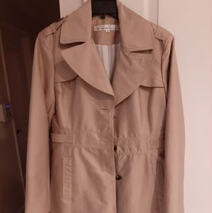 Womens Kenneth Cole Trench Coat Medium